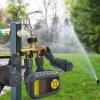Solar Panel Charge Irrigation System with 4 Valves Sprinkler Water Timer