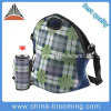 Neoprene Picnic Lunch Cooler Water Bottle Holder Set Bag