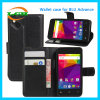 Wallet Cards Slot PU Leather Phone Case for Blu Advance