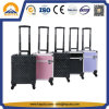 Hot Sale Colorful Large-Capacity Storage Box Beauty Trolley Case with 4 Trap (HB-6347)