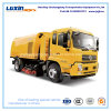 Road Sweeper Vehicle, Street Cleaning Vehicle with Stainless Steel Trash Hopper
