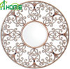 Antique Vintage Round Metal Wall Mirror