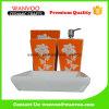 Rose Under Glazed Ceramic Bath Accessory with Soap Dispenser