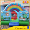 China Inflatable Children′s Playground Animal Theme Rainbow Bouncer with Cartoon Painting (AQ0105-1)