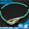 Patchcord LC to LC Om3 Duplex 3.0mm Aqua