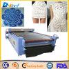 Jinan Factory 100W Cloth/Fabric CNC Cutter CO2 Laser Cutting Machine