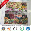 PVC Flower Artificial Leather for Handbags and Shoes