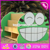 New Design Double Sided Frog Wooden Kids Toy Storage W08c213