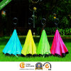 Double Canopies Handsfree Straight Reverse Inverted Umbrella with C Hook Handle (SU-0023I)