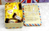 Small Tin Wedding Box/Tin Candy Box /Tin Gift Box