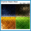 3-8mm Figured Glass /Frost Glass/ Acid Etched Glass with