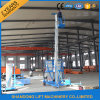 Electric Telescopic Vertical Hydraulic Man Lift Equipment Light Duty