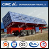 Cimc Huajun 3axle Van/Box-Type Side-Tipping Semi Trailer