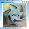 Titanium Pump Impeller for ANSI Chemical Goulds 3196 and Durco Pump Parts