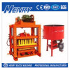 Henry Industrial Qtj4-40 Semi-Automatic Hollow Block, Paving Block and Solid Block Making Machine