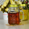 Coffee Cup with Handle/Beverage Cup/Glass Tea Cup with Lid