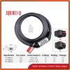 Jq8303-Q Smart Key Bicycle Spiral Password Lock Steering Wheel Lock