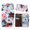 Flowers Leather Case for iPhone 6 Plus 5.5inch