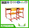 School Furniture Double Desk and Chair Set (SF-19D)