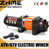 Light Duty Small 2500lbs Electric Winch with Synthetic Rope