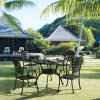 New Style Cast Aluminum Patio Furniture Dining Chairs for Home Yard Furniture