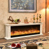 Simple European LED Lights 3D Flame Electric Fireplace (326S)