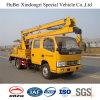 14m Dongfeng Folding Arm High Working Platform Truck Euro5