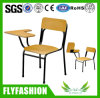 SF-14F High Quality Metal Wooden Training Chair with Folable Sketching Writing Pad