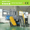 Single Shaft plastic lumps shredder machine