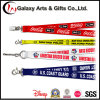 Promotional Silkscreen Printed Polyester Custom Logo Lanyards for Badge