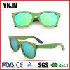 Ynjn Colorful Green Wood Sunglass (YJ-MP180)