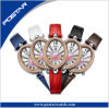Swiss Quality Unique Design Fashion Luxury Oval-Shaped Watch for Woman