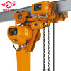 5 Ton Electric Chain Hoist, Electric Winch with Trolley 220V