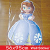 Wholesale Removeable Frozen Cartoon Wall Sticker
