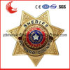 Souvenir Use and Metal Material Engraved Five Star Badge Military