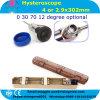 4*302mm Rigid Hysteroscope 0 12 30 70 Degree Optional -Javier