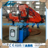 Knuckle and Telescopic Boom Jib Ship Crane