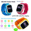 Colorful Screen Kids/Child Portable GPS Tracker Watch with Pedometer Y7s