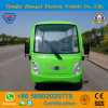 Battery Operated 8 Seats Electric Shuttle Bus for Resort