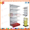 Factory Customized Metal Supermarket Wall Perforated Back Panel Shelves (Zhs576)