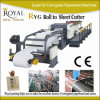 High Speed Paper Roll to Sheet Cutting Machine