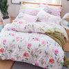 Cheap Reactive Print Cotton Bedding Bed Sheet Set
