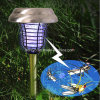 Stainless Steel Solar LED UV Mosquito Killer Light (RS502S)