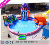 Popular Professional Amusing Backyard Inflatable Water Park for Commerce