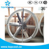 "Portable Cooler Panel Fan 36"" Axial Air Circulating Blast Fan"