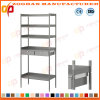 Chrome Home Office Wire Shelves Steel Storage Display Rack (ZHw170)