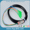 Sc/APC Single Mode Duplex Waterproof Fiber Optical Patch Cord