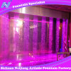 Digital Water Curtain Fountain with Colorful Lighting Economic Indoor Fountain