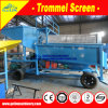 China Low Cost Mini Portable Gravity Trommel Washing Screen Lode Gold Small Mobile Washing Machine for Separating Lode Gold