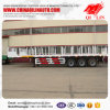 Tri-Axle 40FT Flatbed Trailer with 385/65r22.5 Tyre